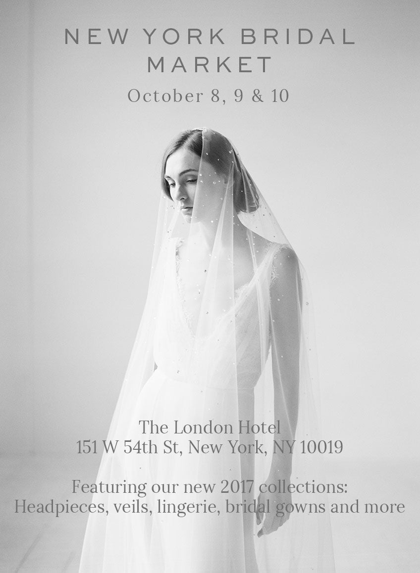 New York Bridal Market 2016, Twigs and Honey, The London Hotel, Appointments