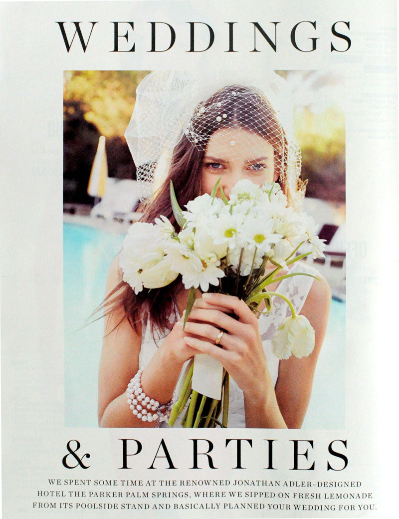 j.crew weddings, twigs & honey, birdcage veil, cathedral veil, catalog, bridal veils