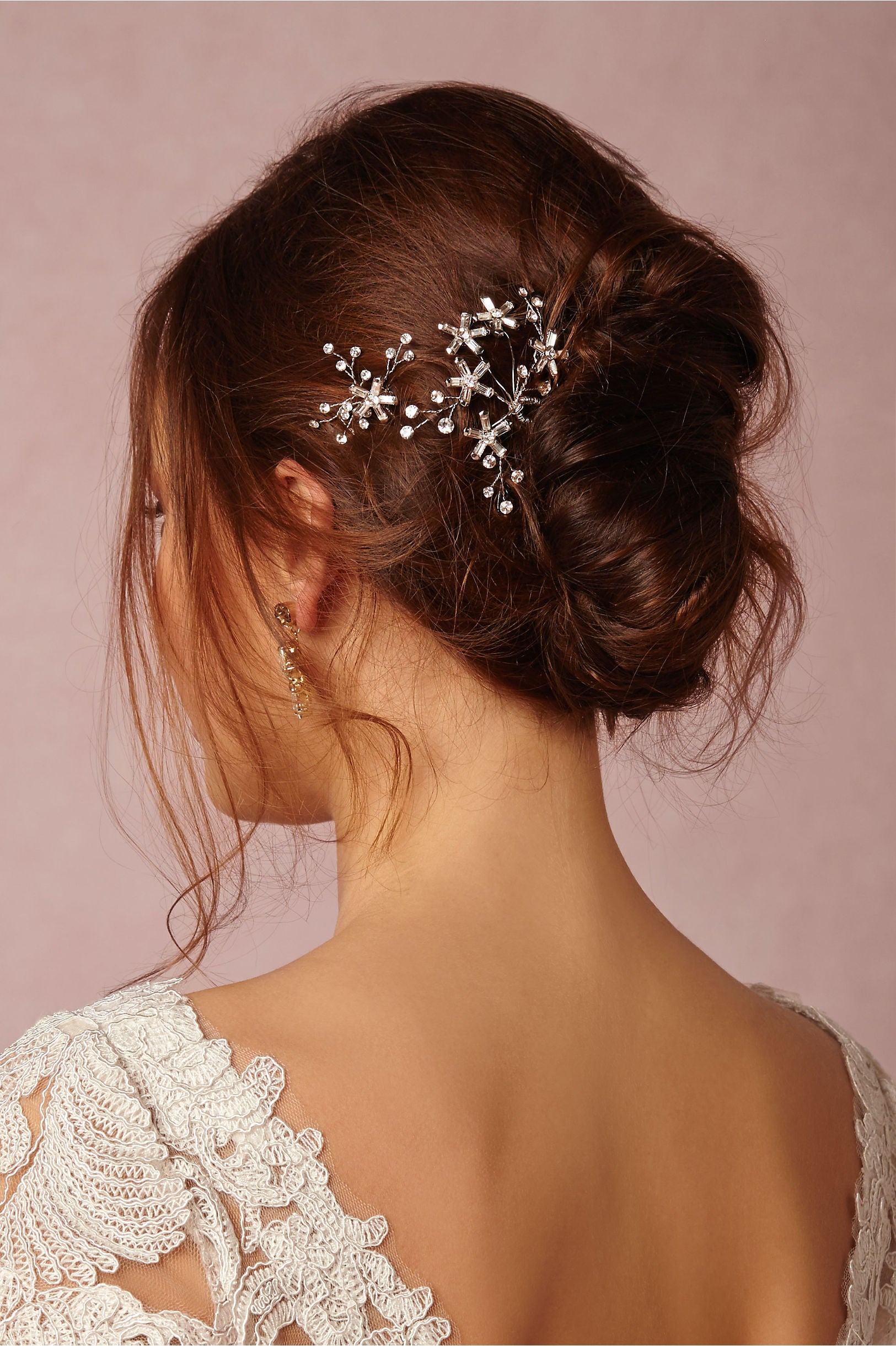 stargazer bobbies, bobby pins, crystal hair pins
