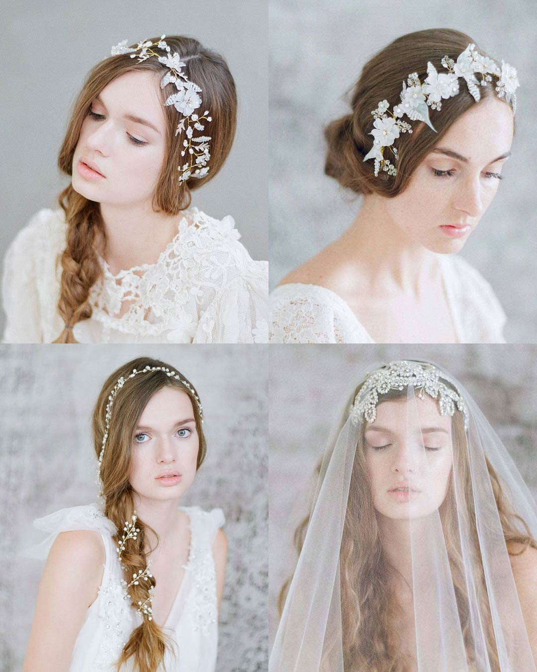 twigs and honey, ready to ship, bridal headpieces, hair adornments, hair vines