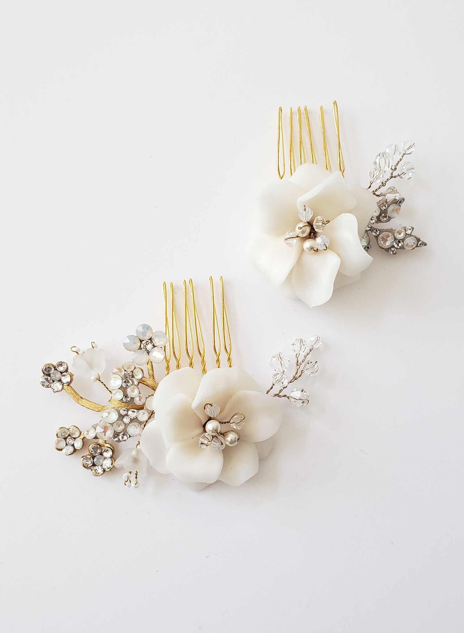 Purity blossom comb set of 2 - Style #2016