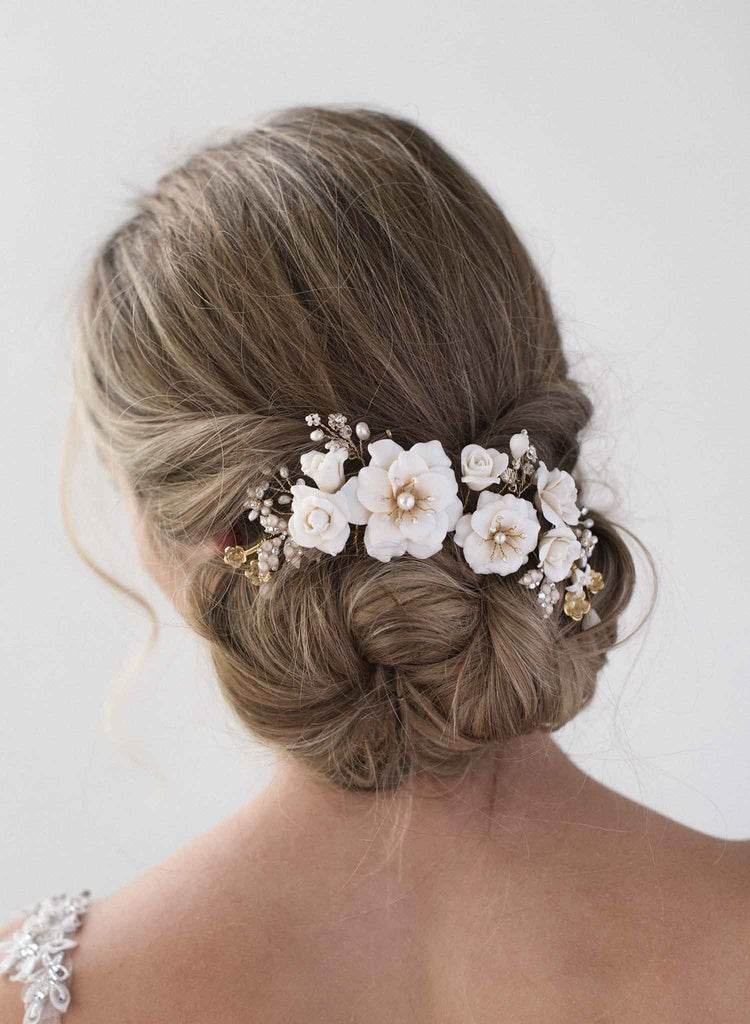 Sweet rose floral headpiece - Style #2019