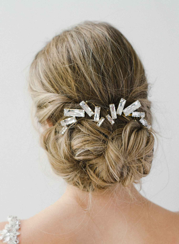 Confetti party hair comb set of 2 - Style #2021