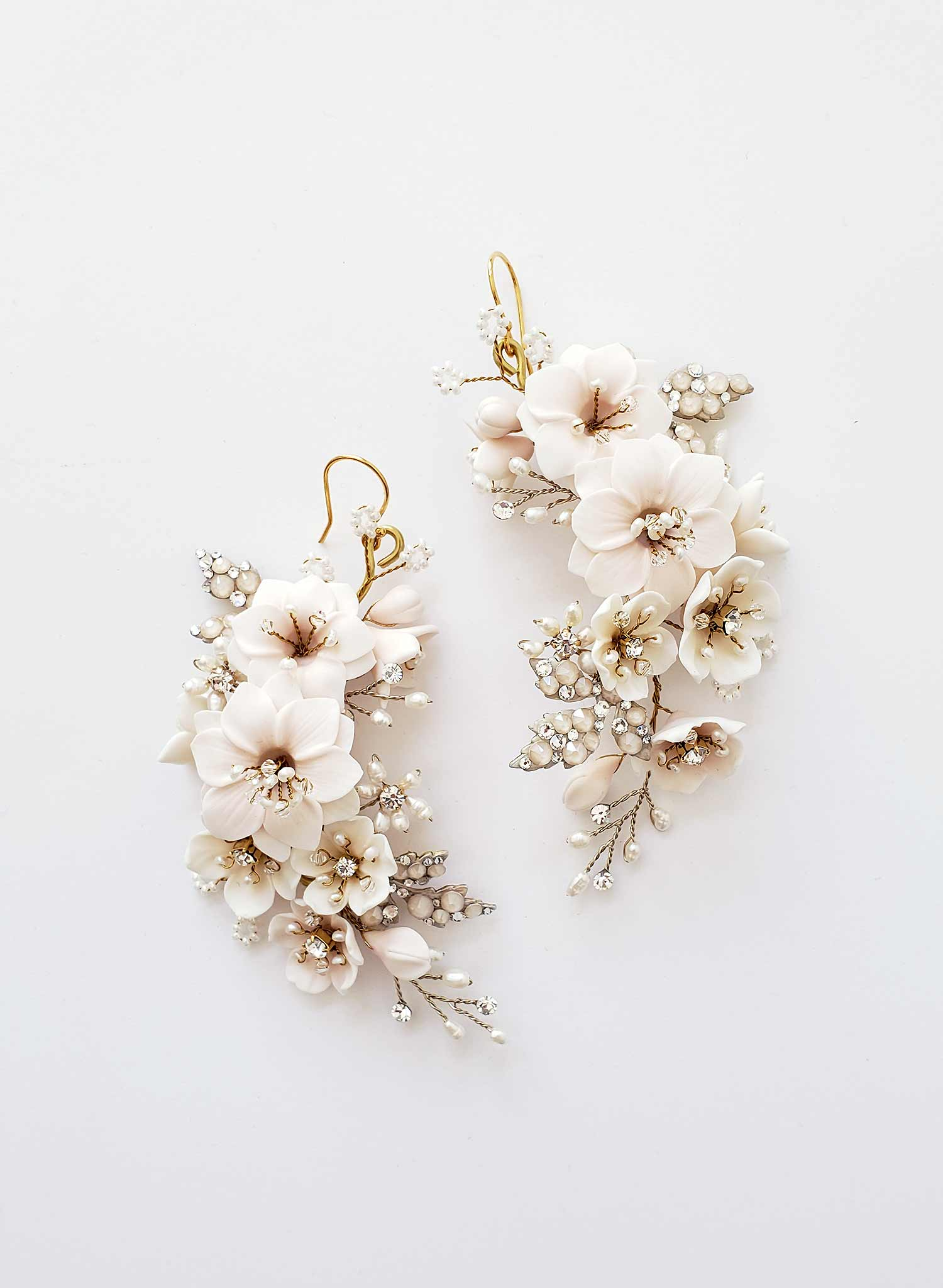 Flower lover decadent earrings - Style #2034