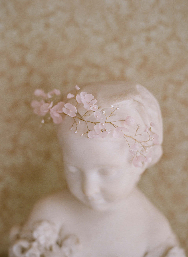 Blushing floral crown - Style # 207