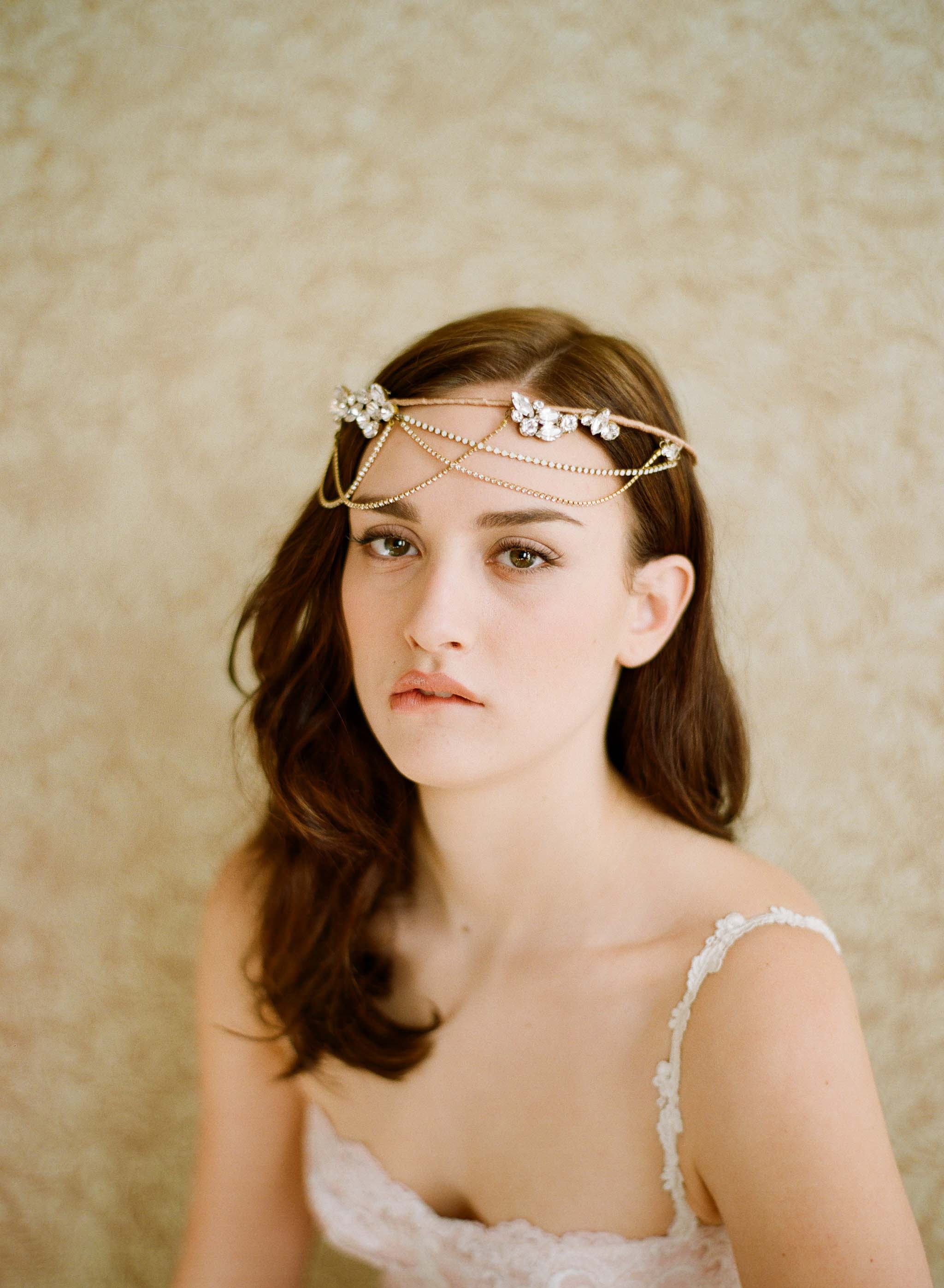 Golden whimsy crown - 2012 collection