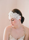 Floral and lace headpiece - Style # 248