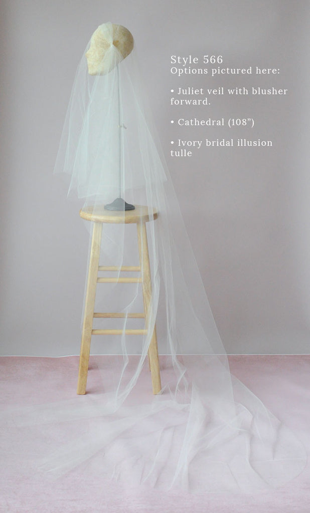 juliet chapel veil, wedding veil