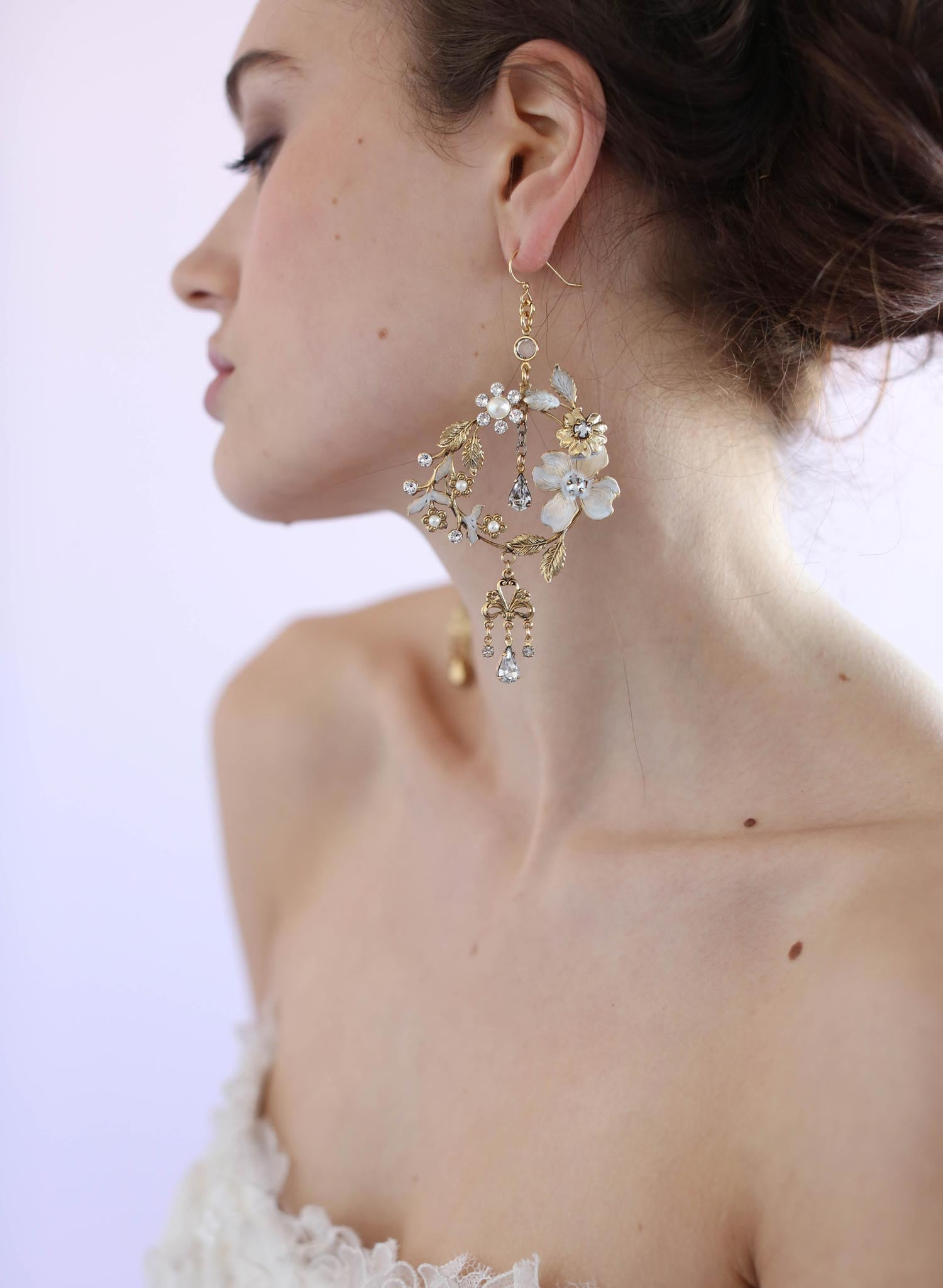Dramatic garden earrings - Style #629