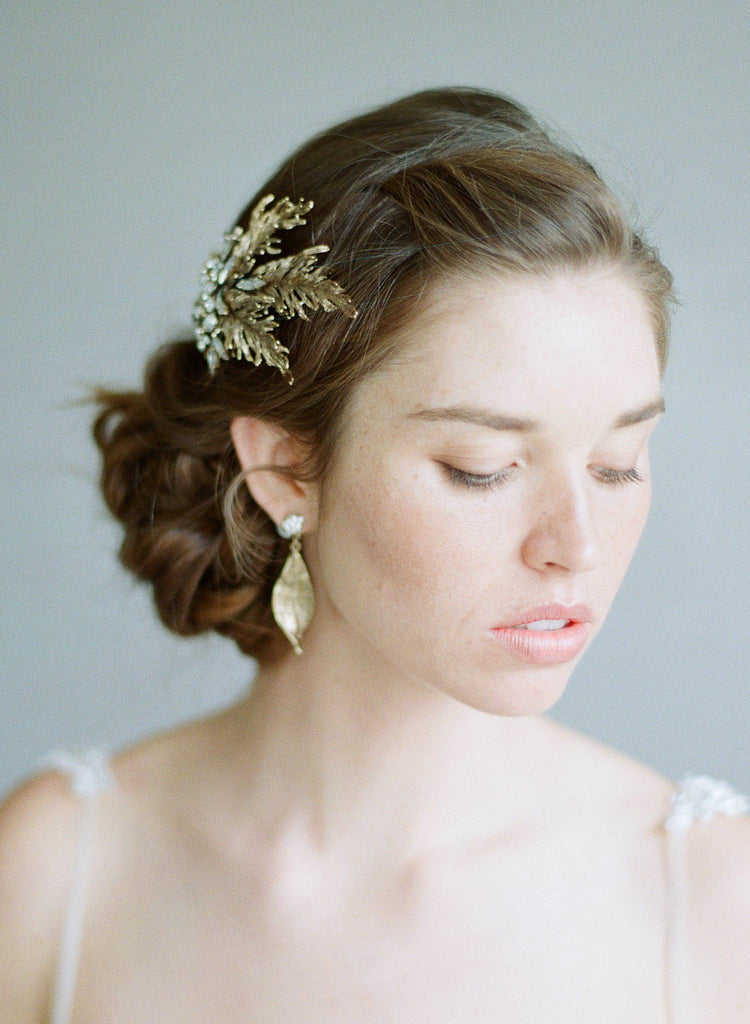 Bridal earrings, wedding jewelry