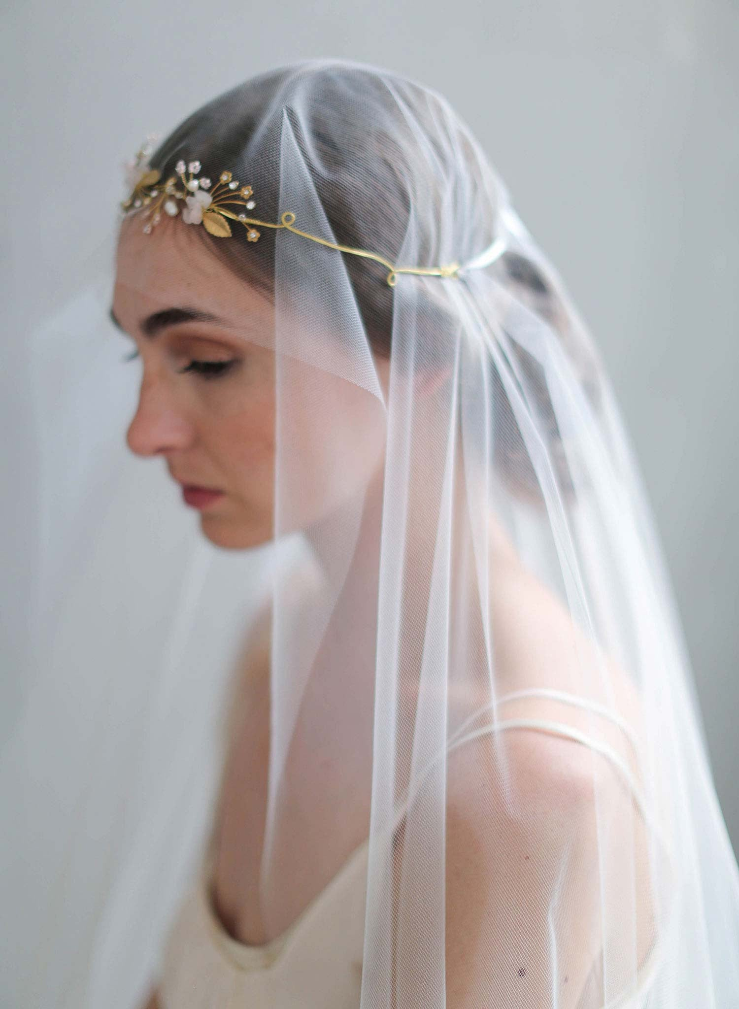 Bridal Headband Garden Of Sweet Delights Headband Style 721 Twigs Honey Llc
