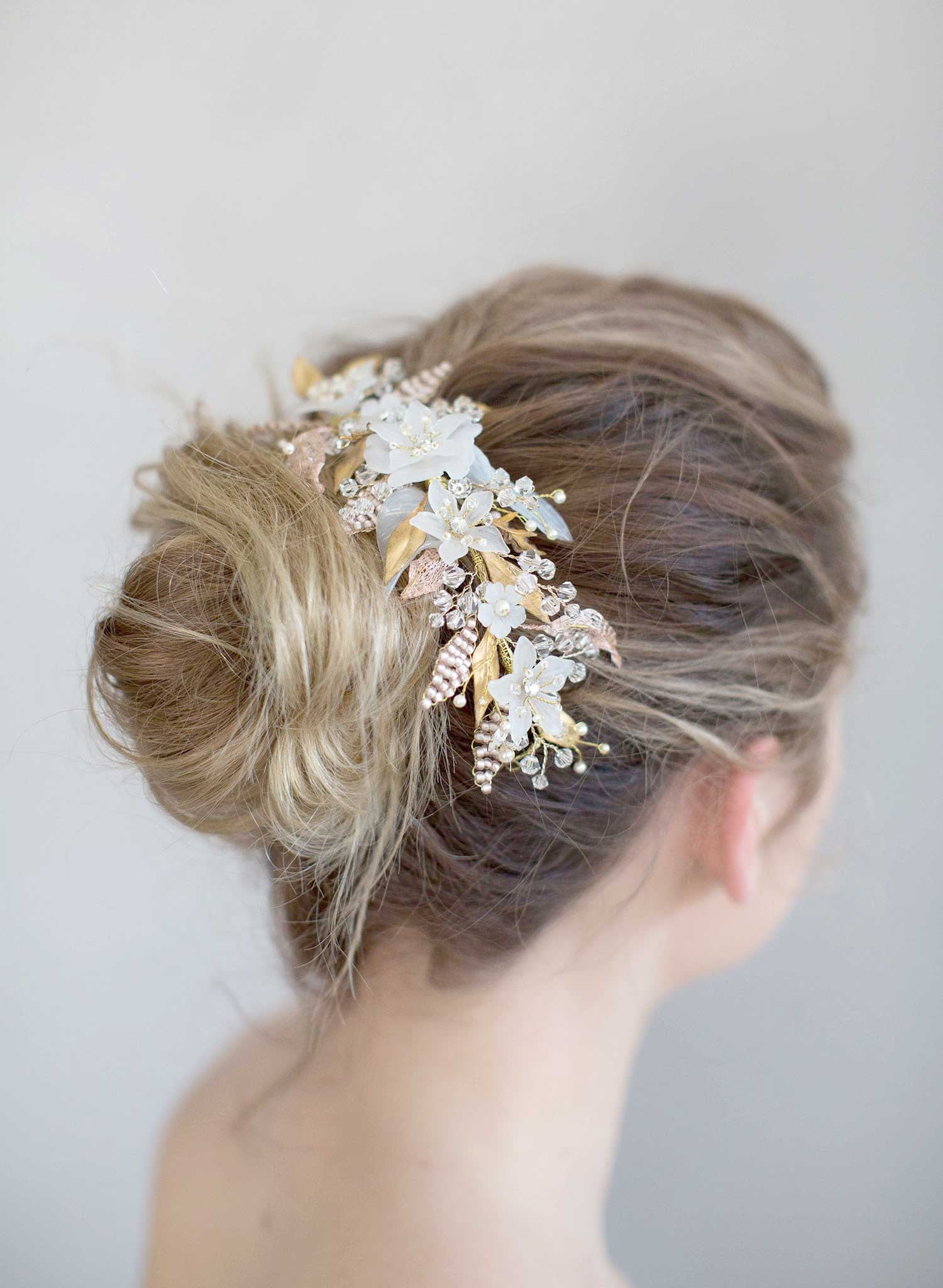 Sugary sweet floral headpiece - Style #766