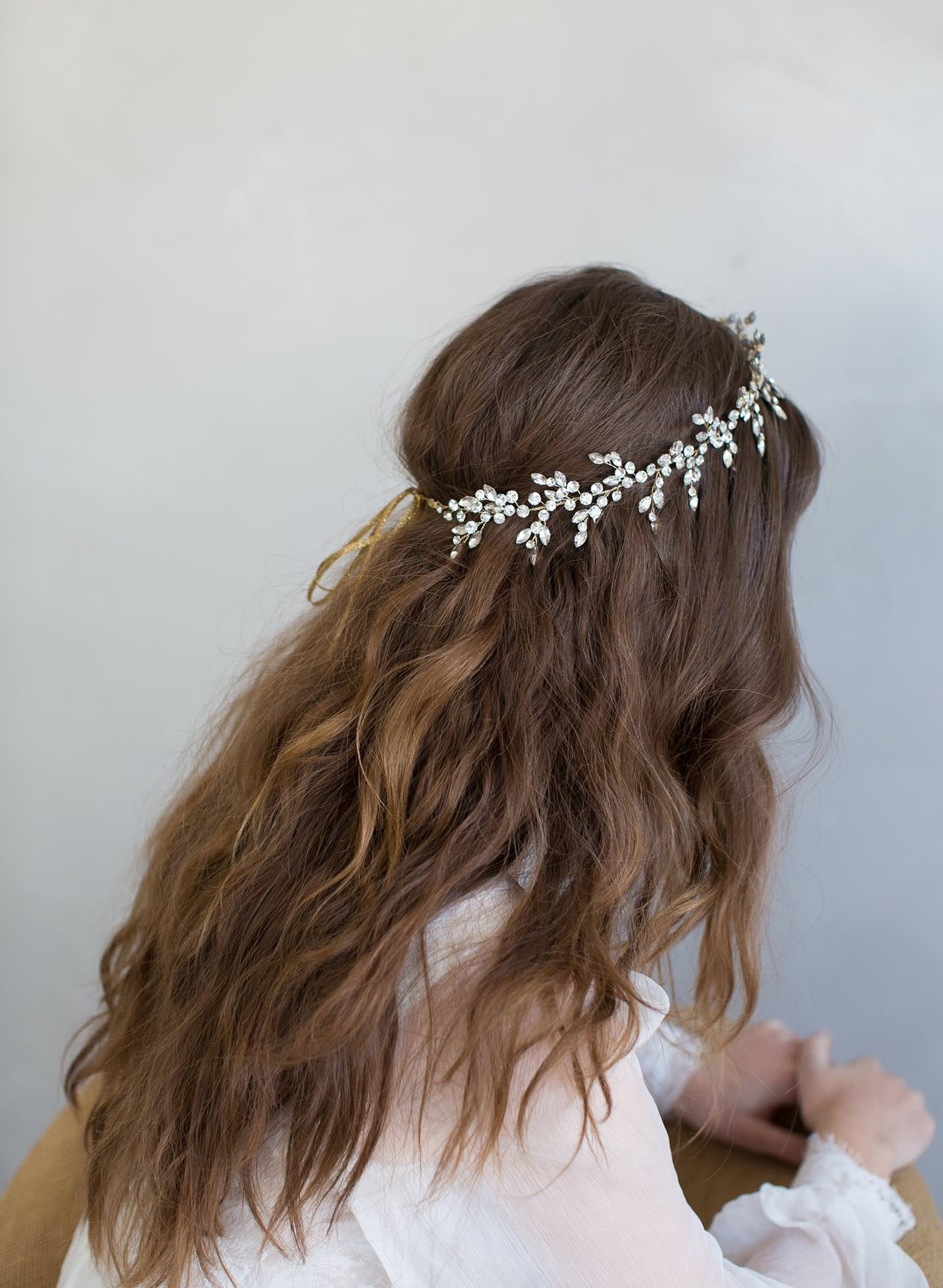 Br Bridal Headpieces Twigs And Honey -  dramatic crystal burst headpiece style 798