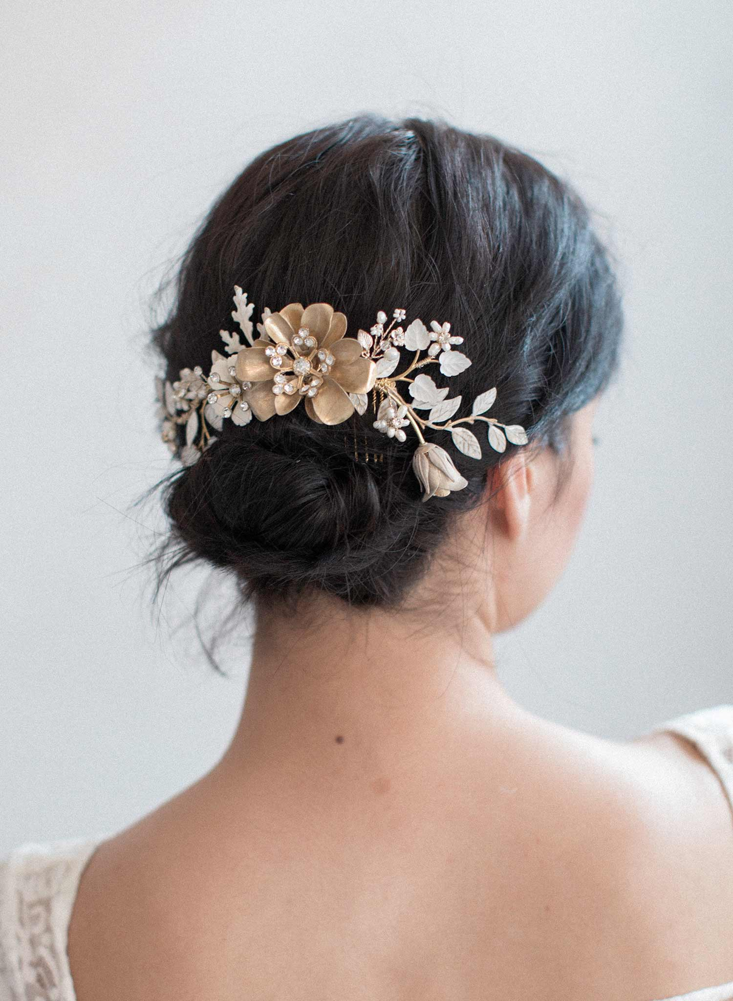 Decadent floral daydreams comb - Style #823