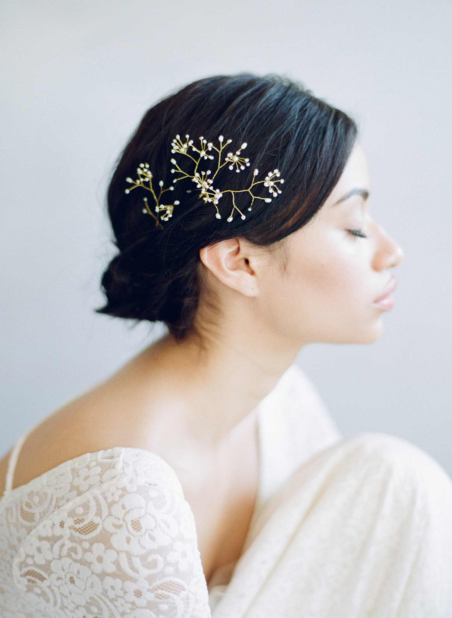 Breathless hair pin set of 4 - Style #832
