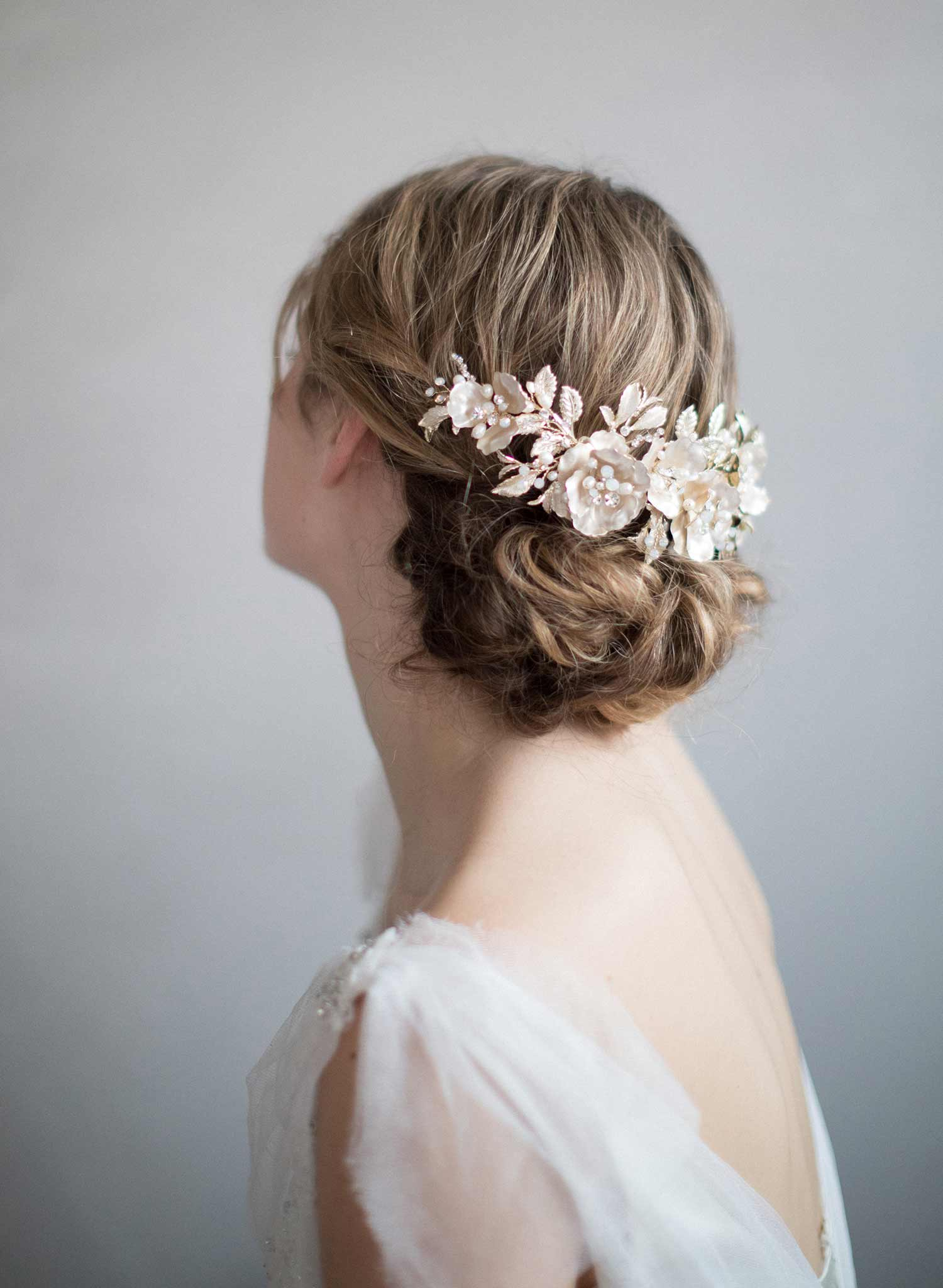 Blushing floral crown style 207 twigs honey llc floral extravaganza headpiece style 846 izmirmasajfo