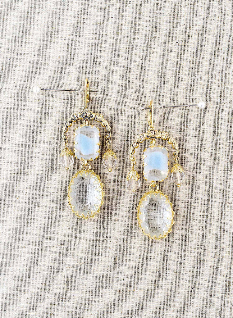 Goddess chandelier earrings - Style #9025