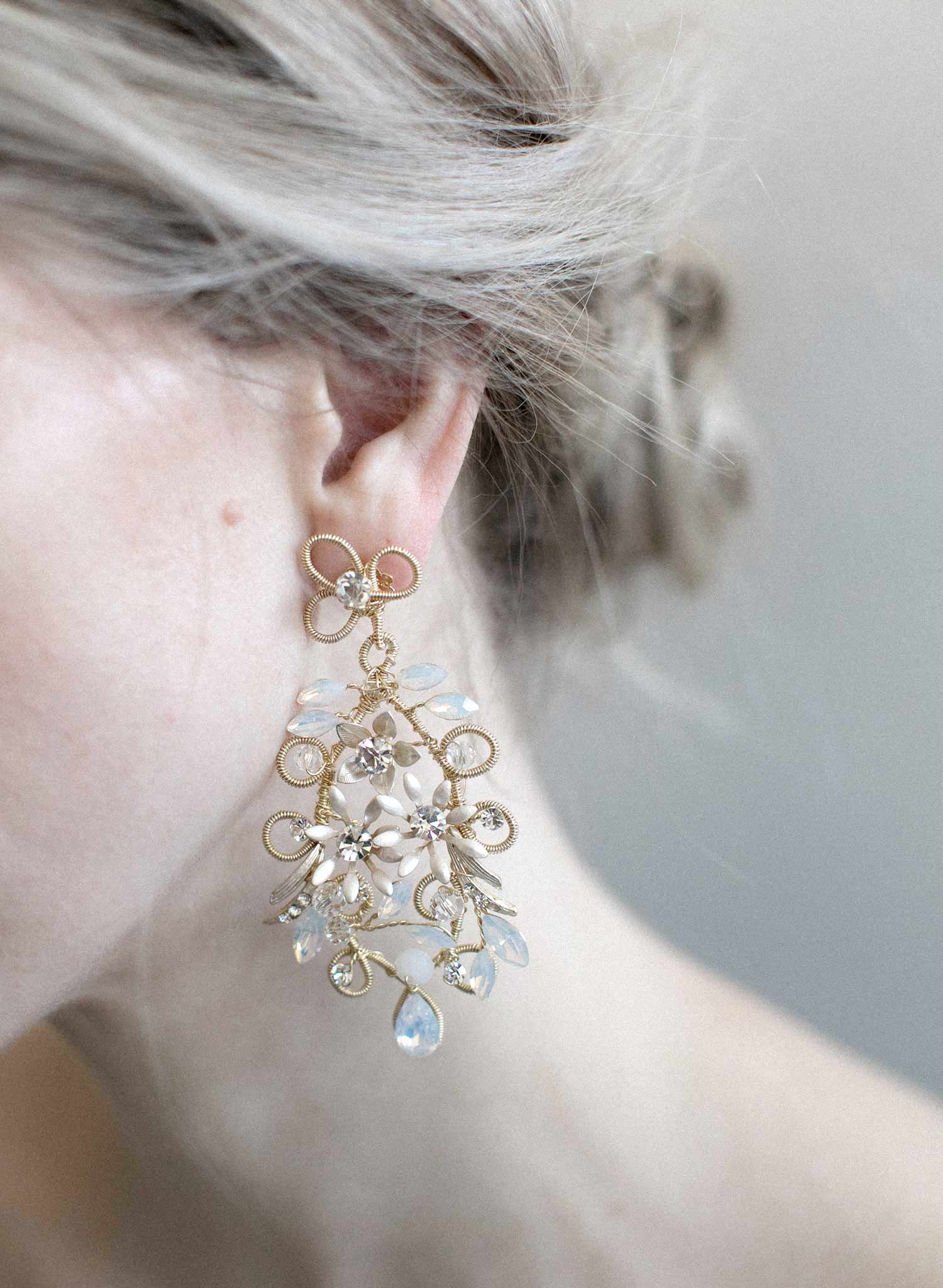 Mermaid's chandelier earrings - Style #911