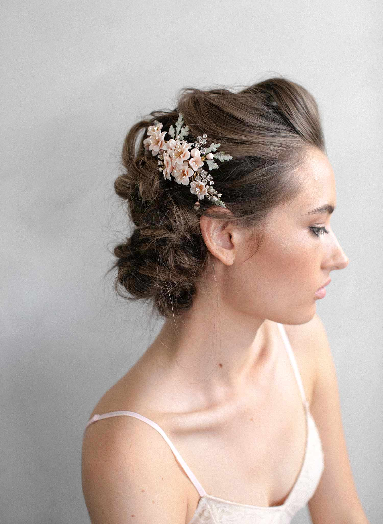 Blossom garden hair comb - Style #940