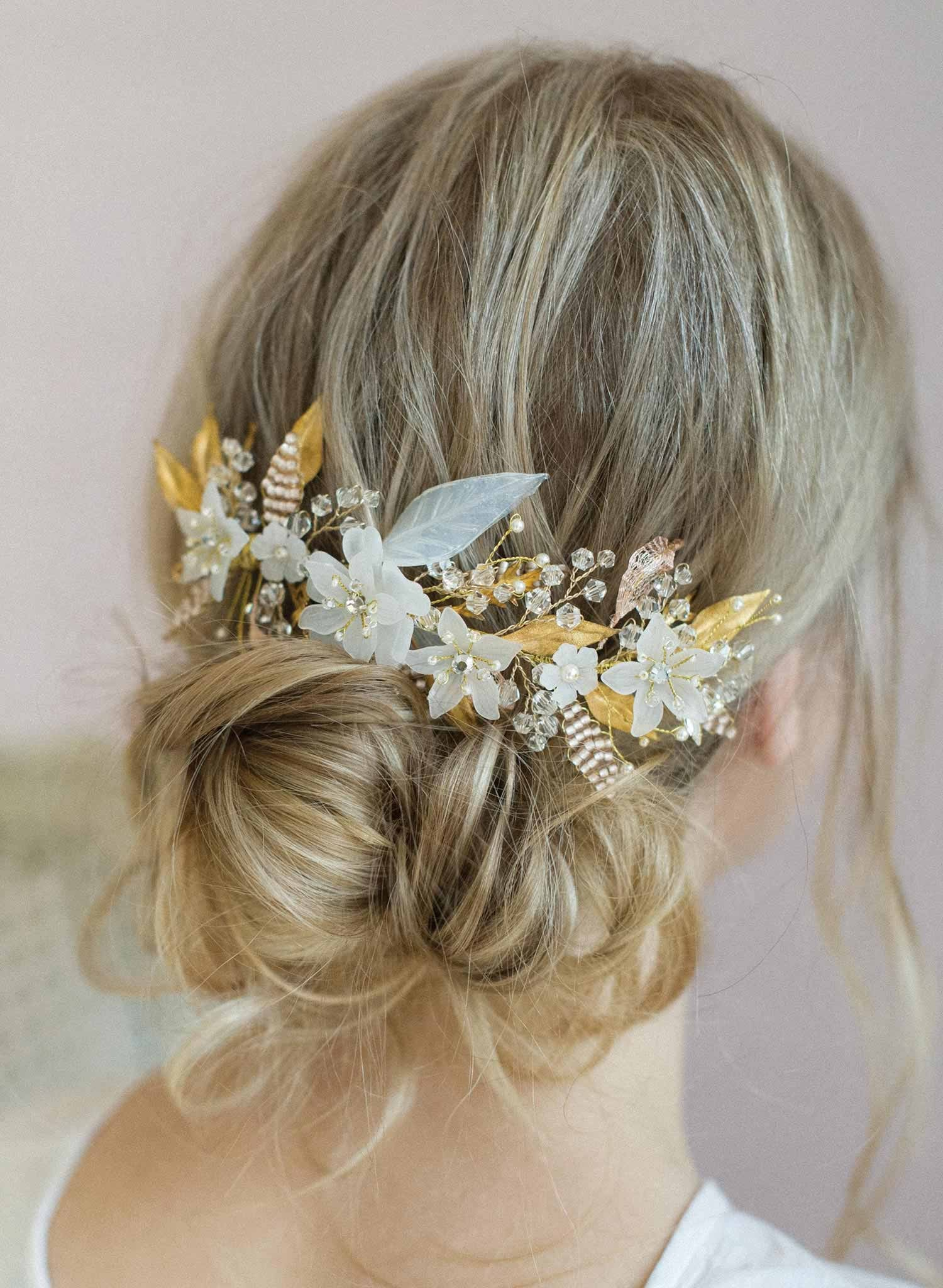 Br Bridal Headpieces Twigs And Honey - Sugary sweet headpiece bridal headpiece hair adornment wedding headpiece twigs and honey