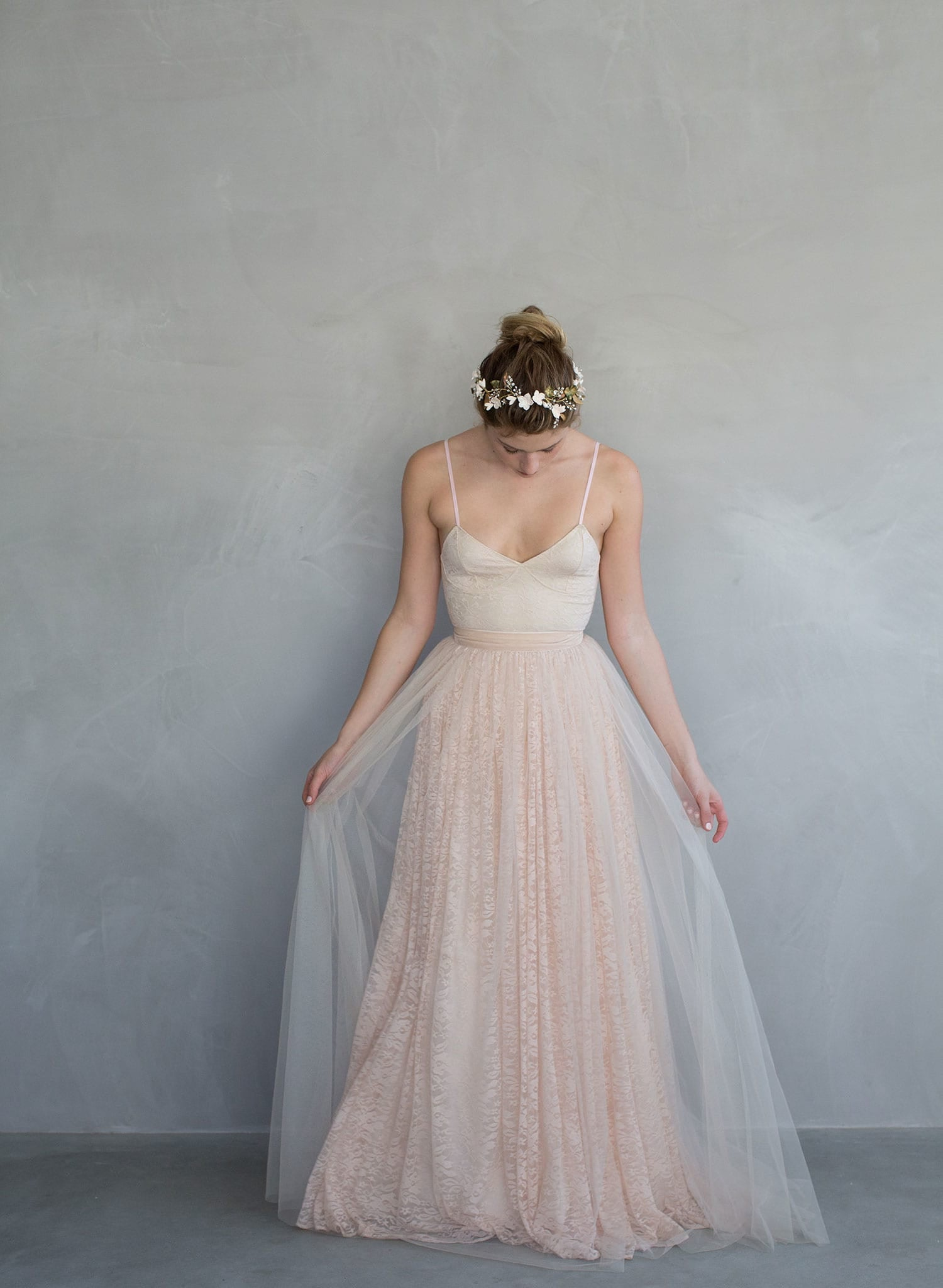 Cupcake - Lace and tulle overlay ballerina inspired skirt - twigs ...