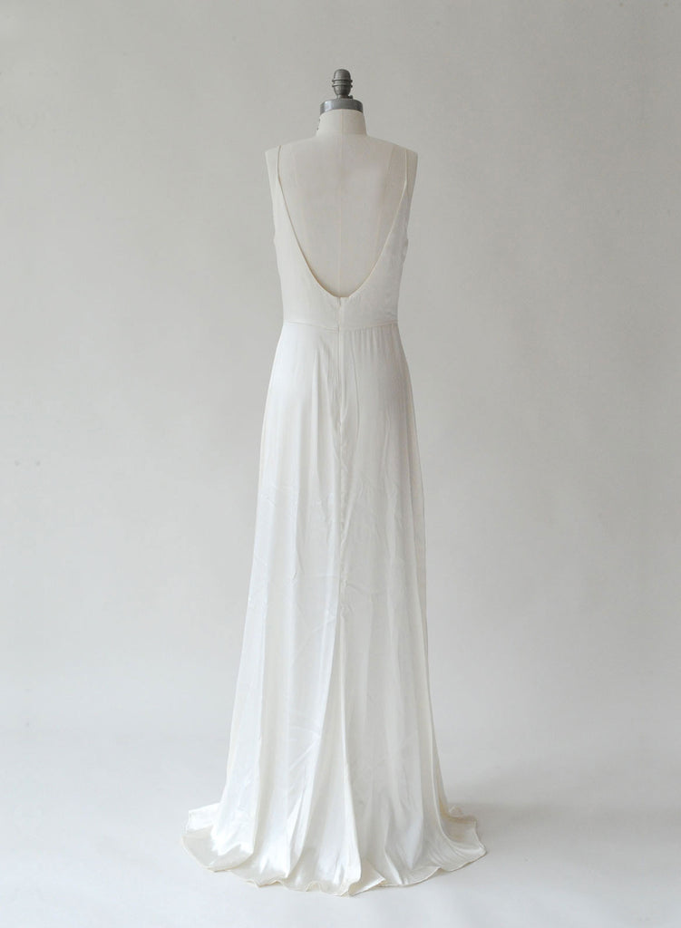 Fitted silk slip dress - Style # TH012