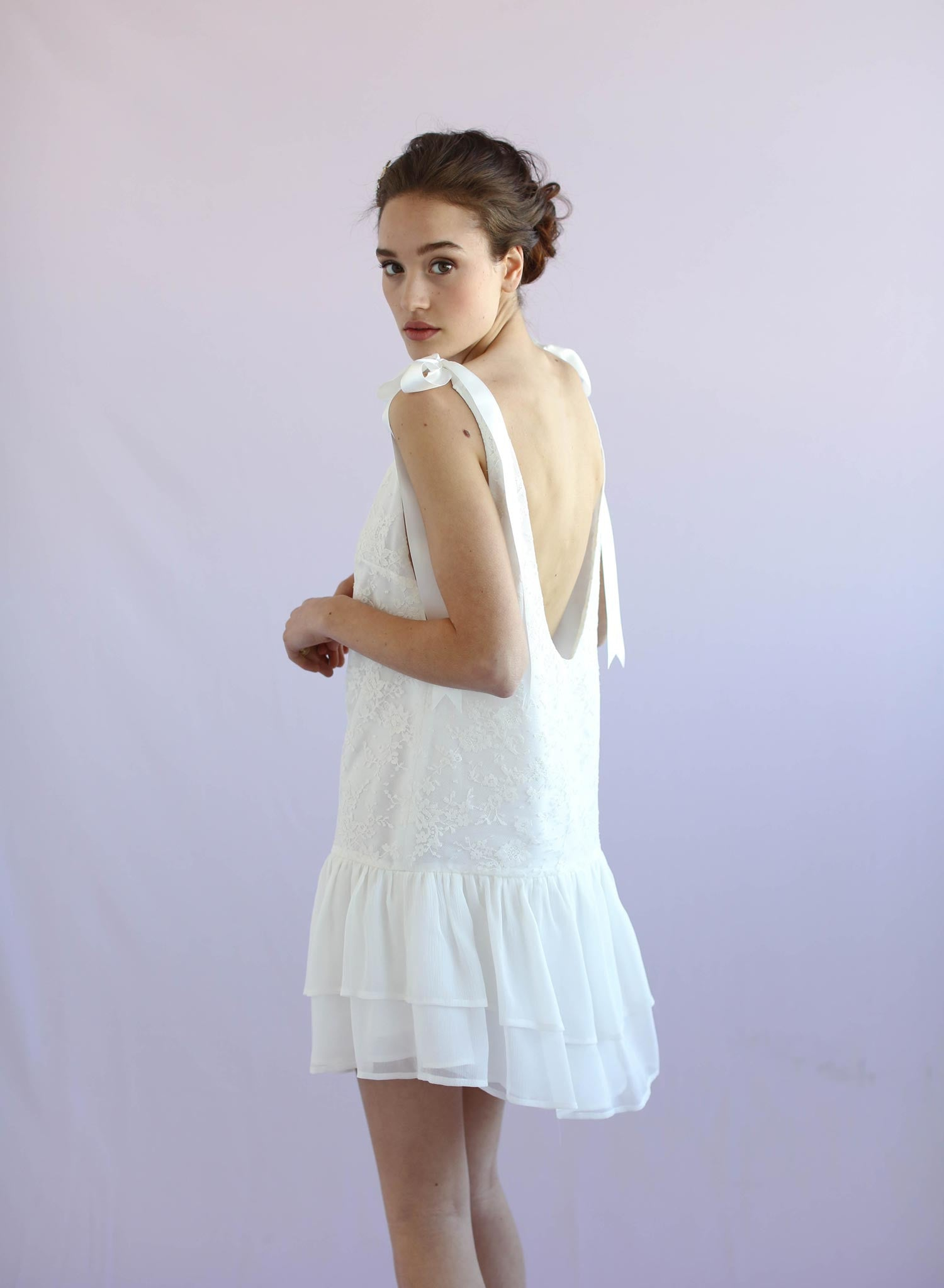 Sweet Pea - Lace mini dress - Style #TH023
