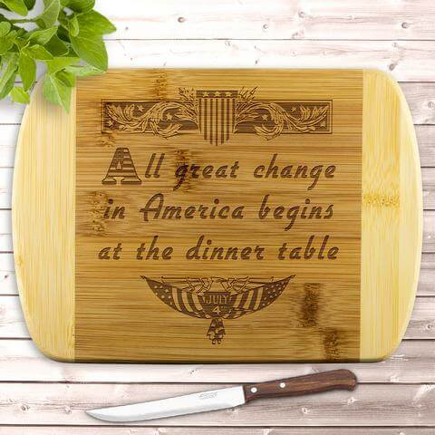 4th of July cutting board