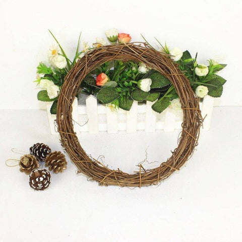 Grapevine wreath for fall