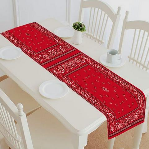 Patriotic Bandana Table Runner