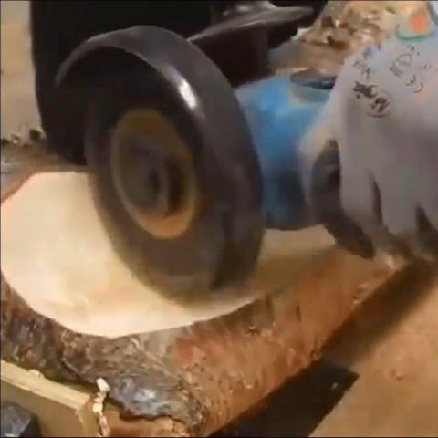 Angle Grinder Wood Carving Blade