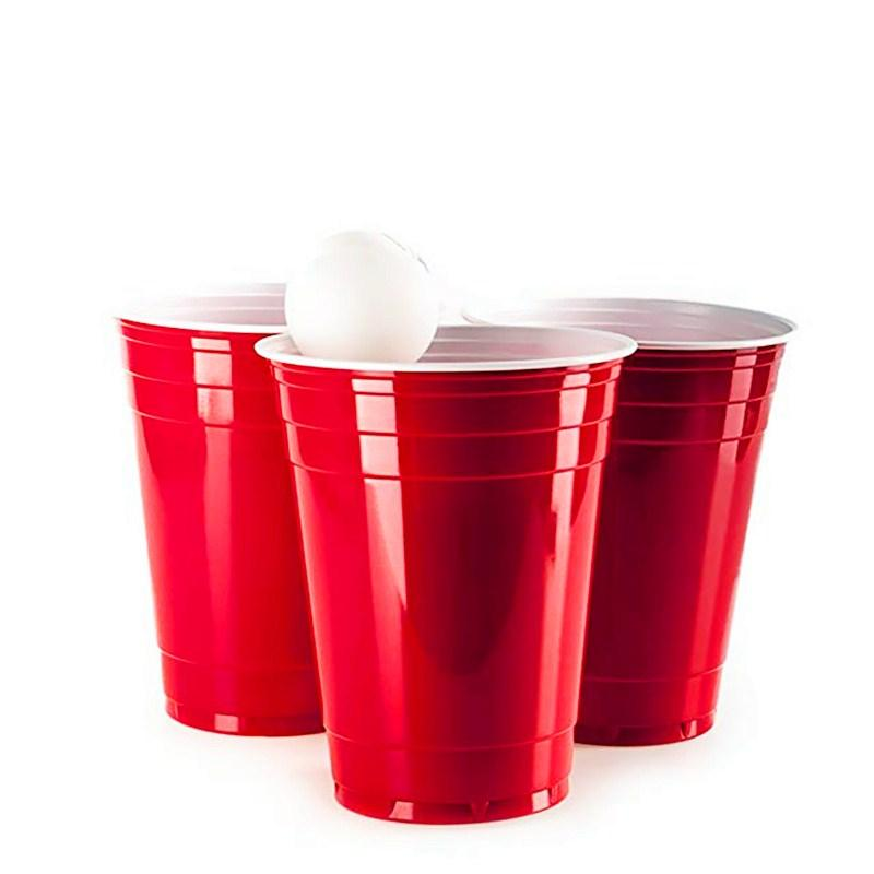 Beer pong party cups