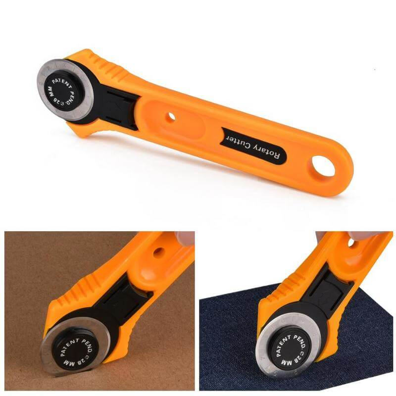 Rotary cutter blade set for 28mm rotary cutter