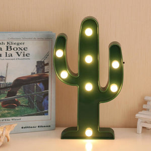 Cactus Night Light - Mounteen.com