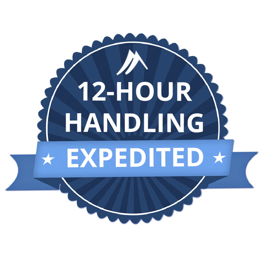 12-Hour Expedited Handling