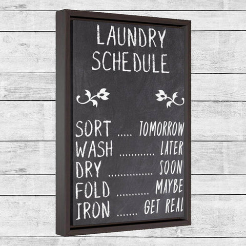 Rustic Laundry Sign