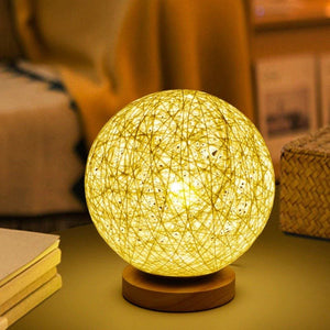 Glowing Rattan Ball - Mounteen.com