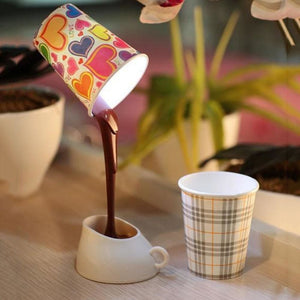Spilling Coffee Lamp - Mounteen.com