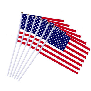 American stick flags