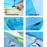 Beach Tent for Baby with Pool