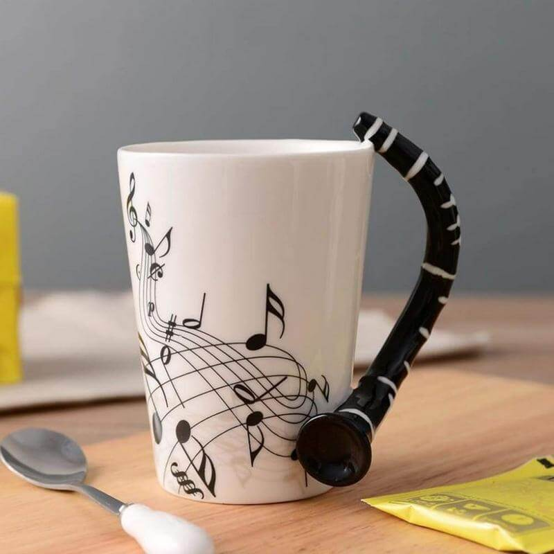 Gifts for Clarinet Players - Clarinet Mug