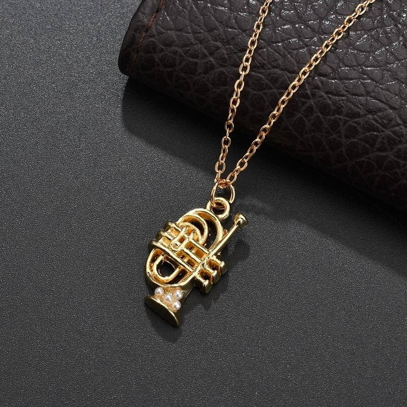 Cornet necklace - GIfts for cornet players