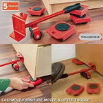 EasyMove Furniture Mover & Lifter Toolkit: 10x Your Strength & Protect Health Moving Heavy Stuff - Mounteen.com