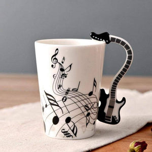 Gifts for Guitar Players - Electric Guitar Mug