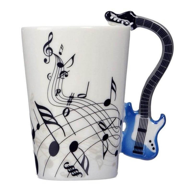 Gifts for Electric Guitar Players - Electric Guitar Mug