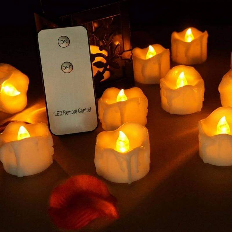 Remote Flameless Candles