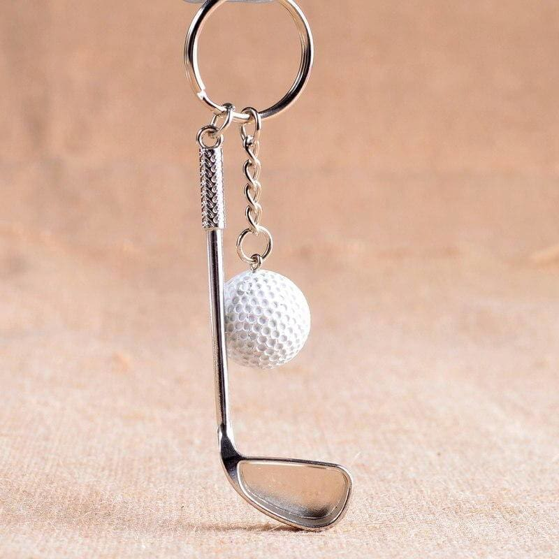 Golfer's 'Game In Your Pocket' Keychain - Mounteen.com