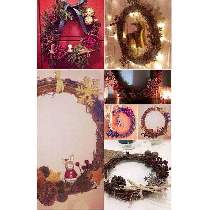 how to decorate grapevine wreath