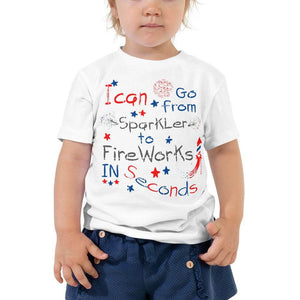 4th of July Toddler T-Shirt