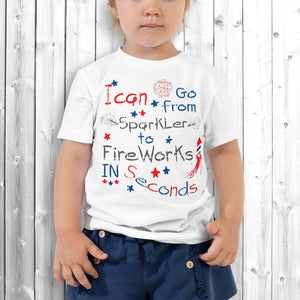 4th of July Girl T-Shirt White